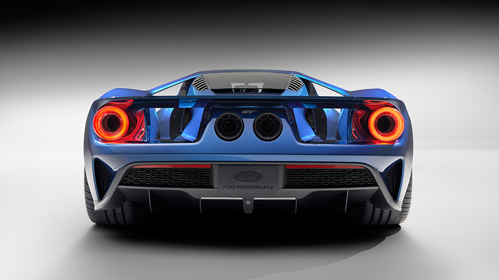 Ford GT arriere