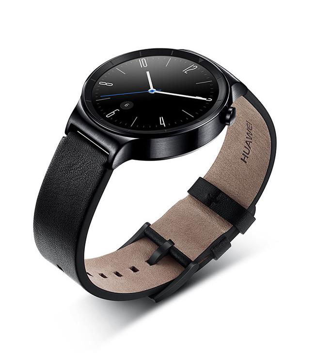 Huawei Watch Black Leather