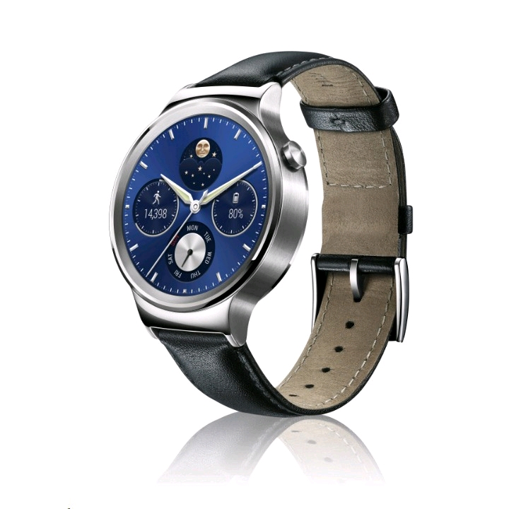 Huawei Watch Silver Leather