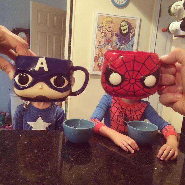 Mug-Spiderman