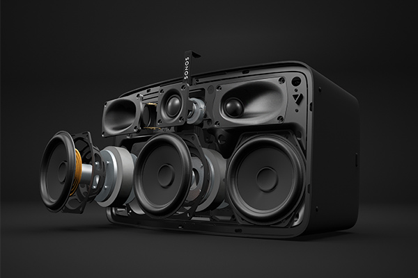 Sonos PLAY5 Exploded View