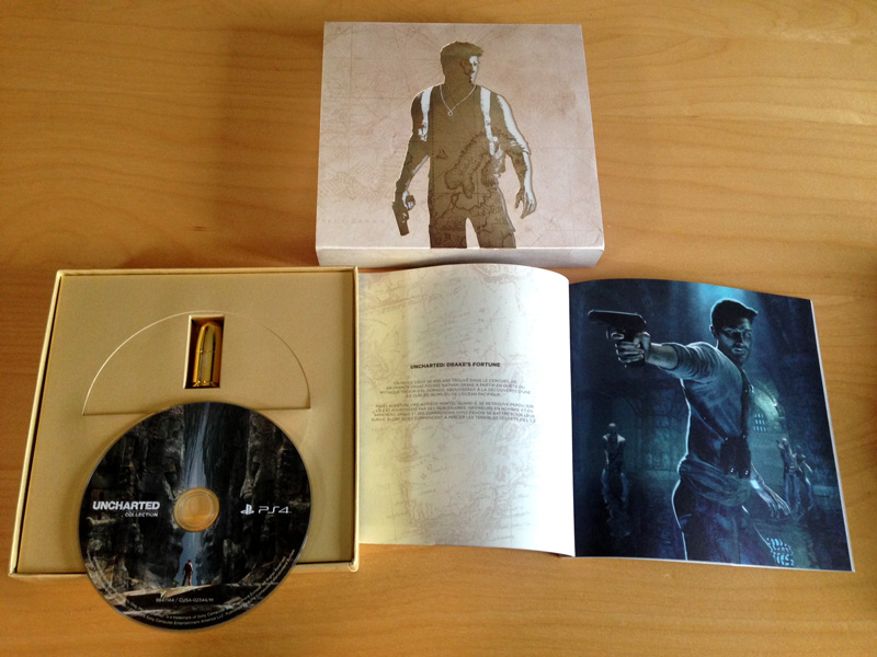 Uncharted Press Kit PS4