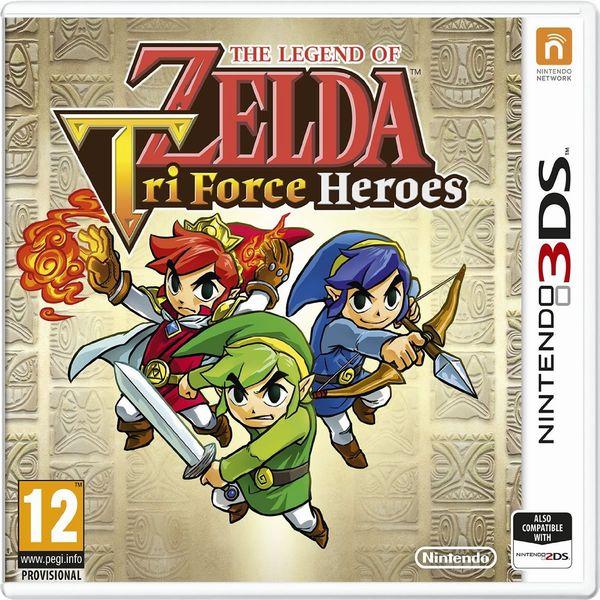 Zelda Tri Force 3DS jaquette
