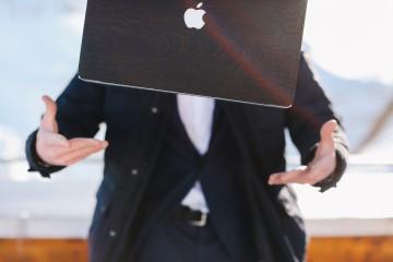 Glitty MacBook Case