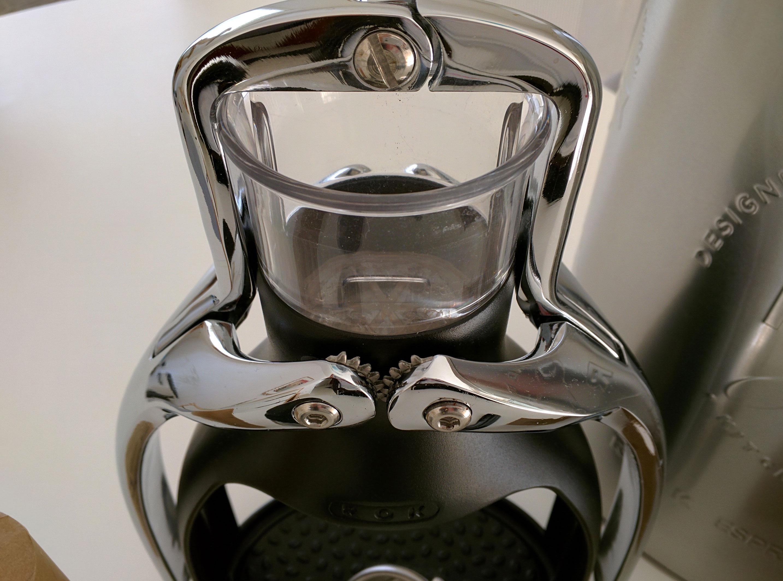 Rok Espresso Mecanic System