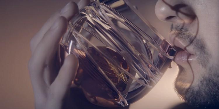 Ballantine Space Whisky Glass