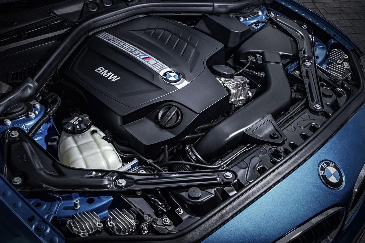 BMW M2 moteur