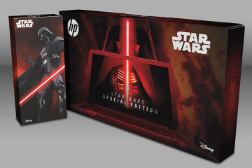 HP Star Wars Special Edition Notebook HP Packaging