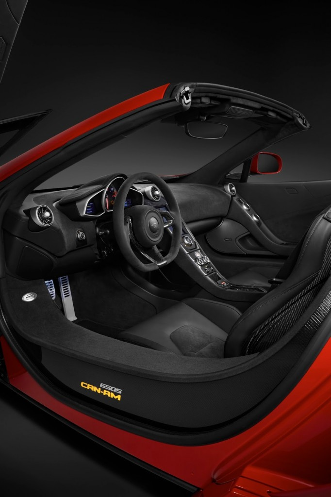 McLaren 650S Can AM volant