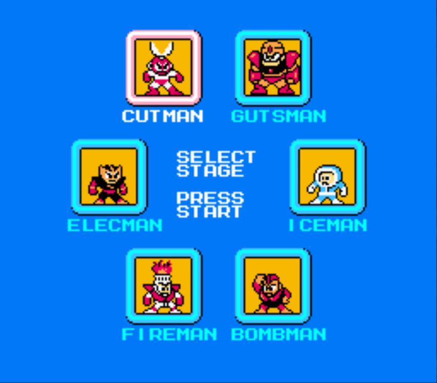 Megaman 1 Boss