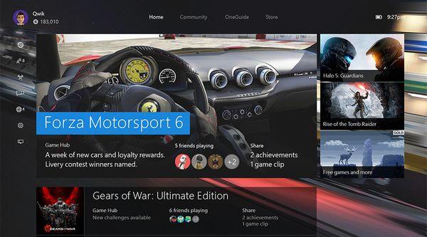 New-Xbox-Experience