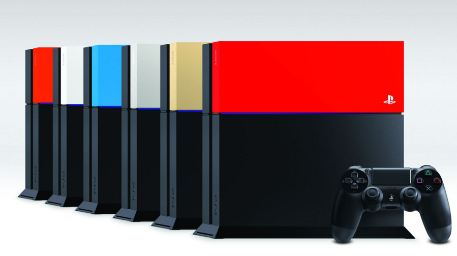 PS4-Faceplates