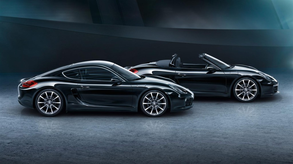 Porsche Cayman Black Edition Cab Side