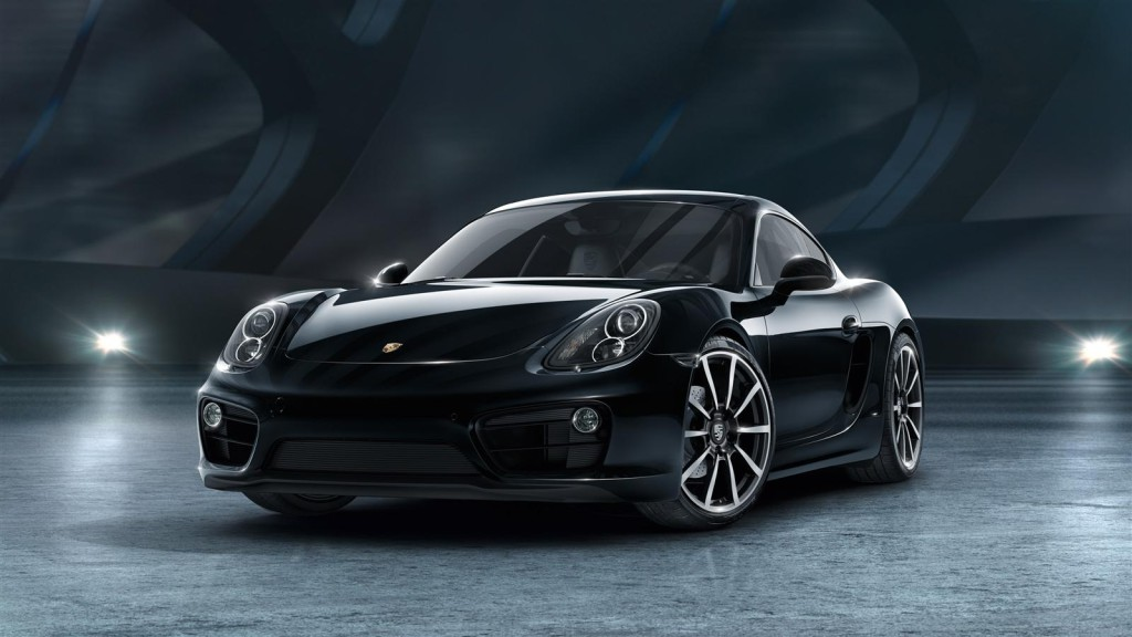 Porsche Cayman Black Edition Front