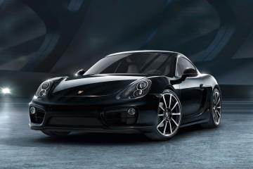 Porsche Cayman Black Edition Front