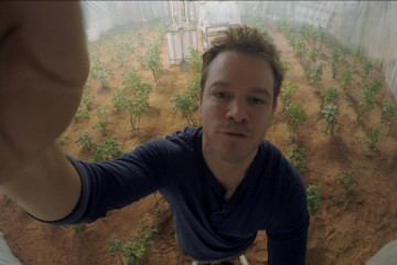 The Martian Matt Damon GoPro