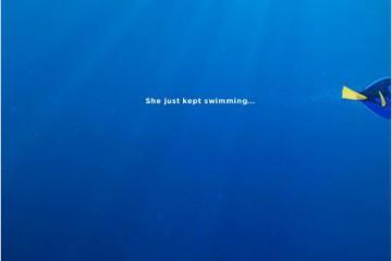 Affiche Monde de Nemo Dory