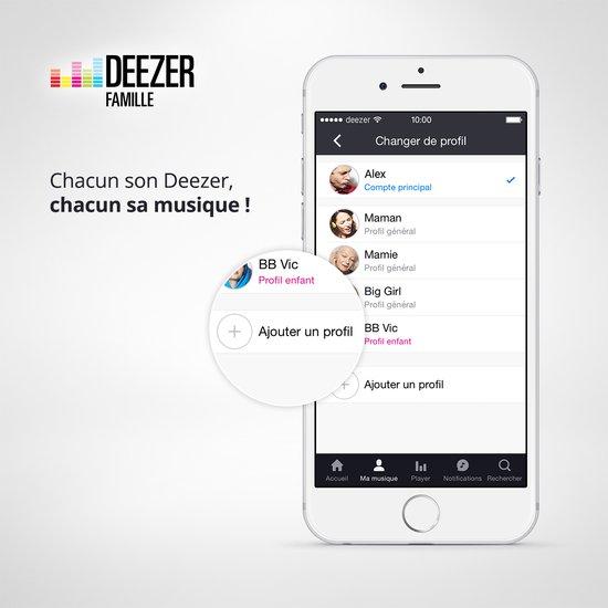 Deezer Famille