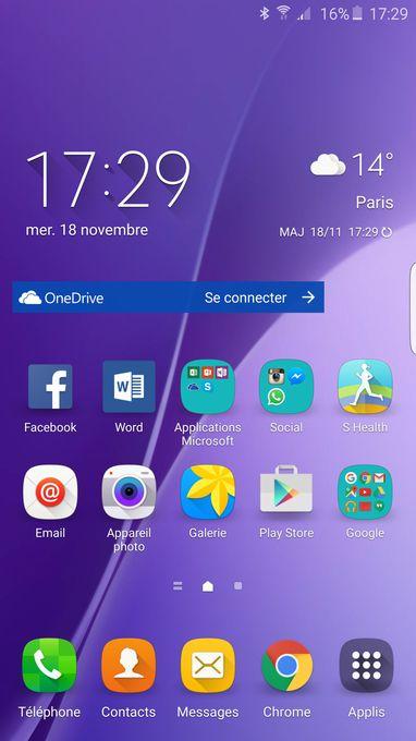 Galaxy S6 Edge Plus screen