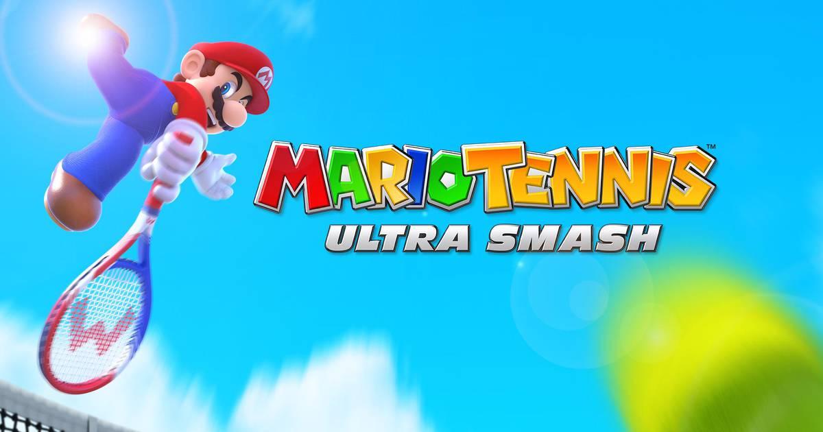 Mario Tennis Ultra Smash Logo