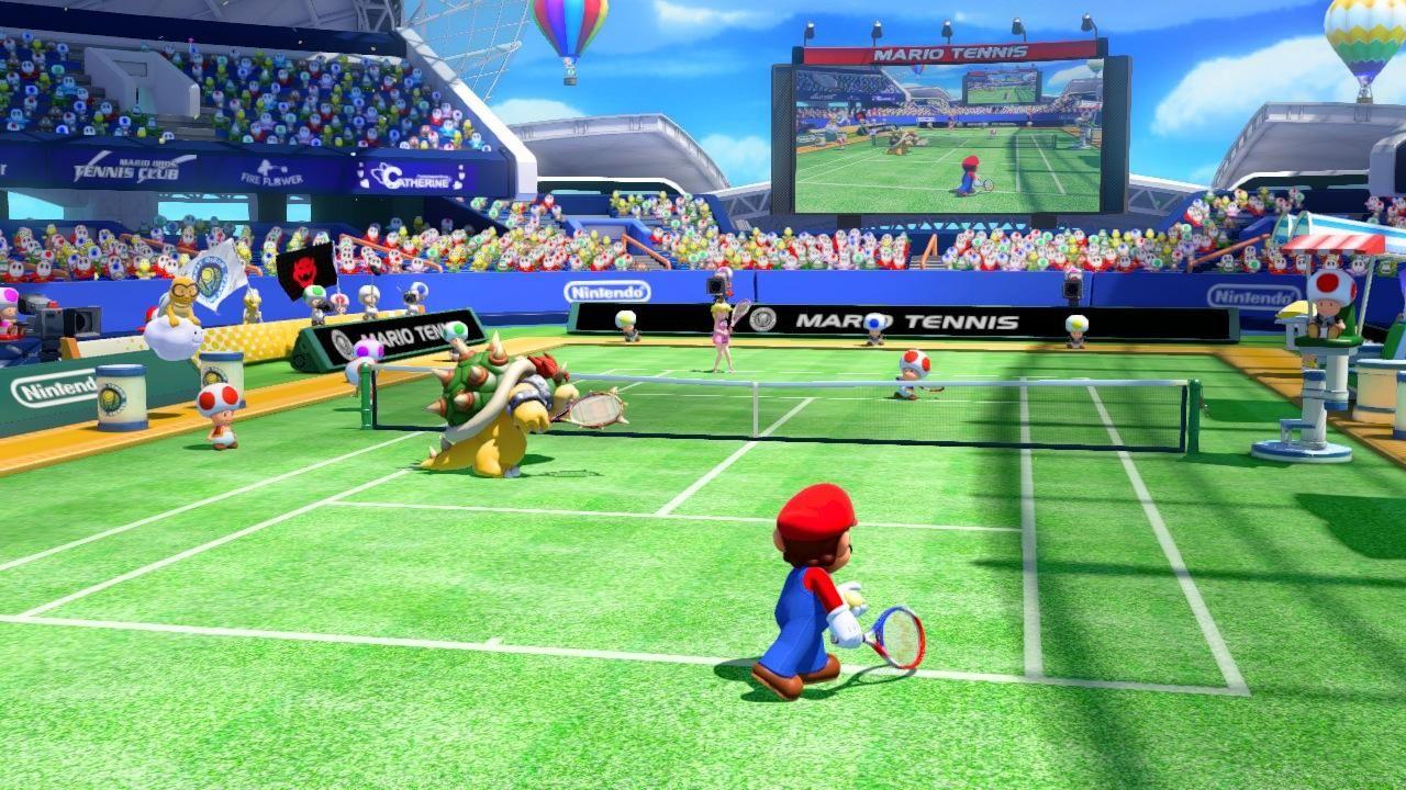 Mario Ultra Smash Wii U