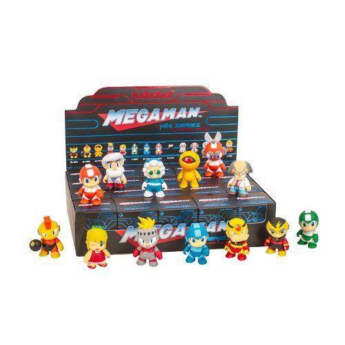 Megaman Kidrobot Collection