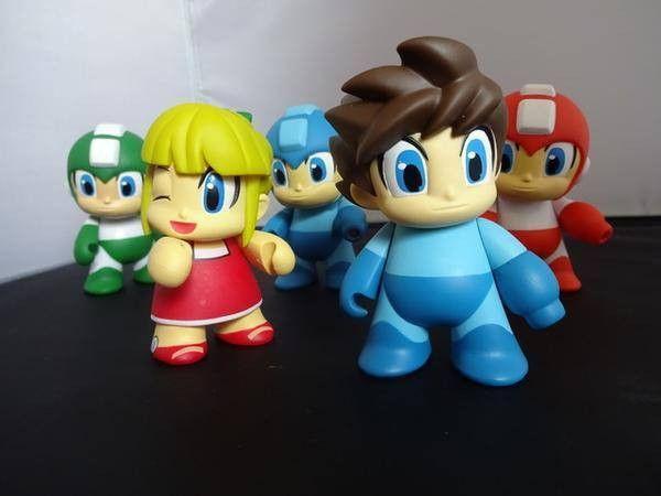 Megaman Kidrobot vinyl Series