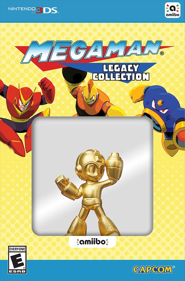 Megaman Legacy Collection 3DS Collector US