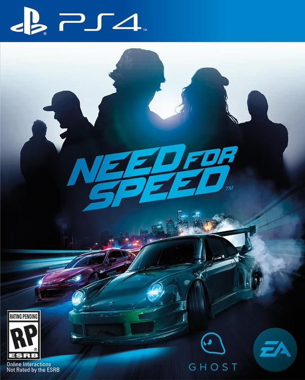 affiche need for speed PS4