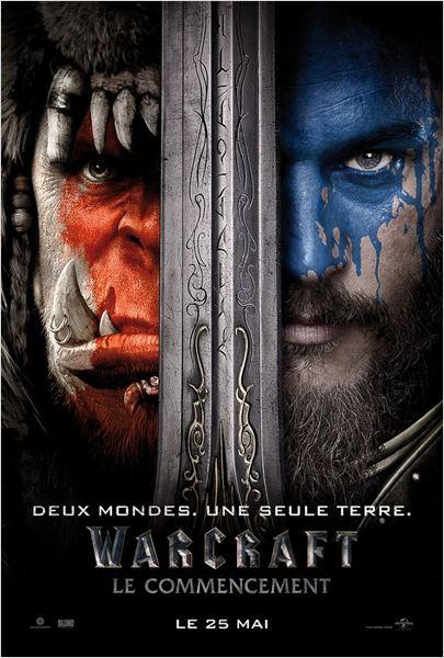 Affiche Film Warcraft Commencement Beginning