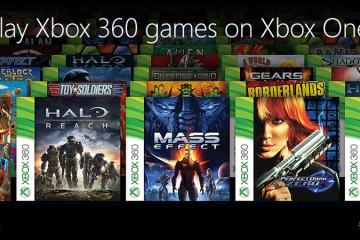 Liste jeux Xbox 360 compatibles Xbox One