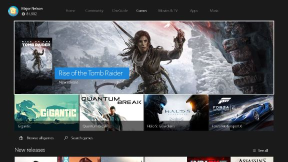 Xbox One New Experience 2