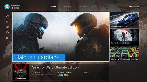 Xbox One New Experience