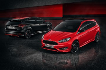 Ford Focus Black Red Edition