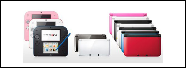 Nintendo-3DS-models