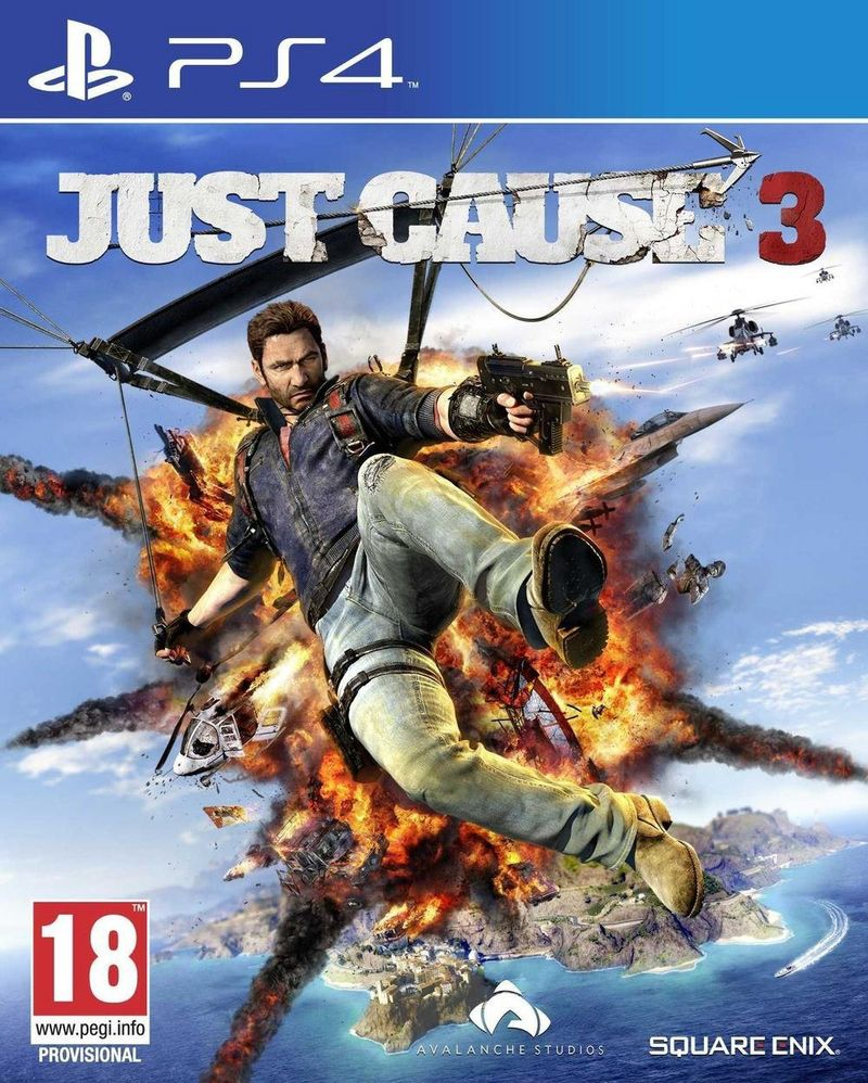 jaquette Just cause 3 ps4