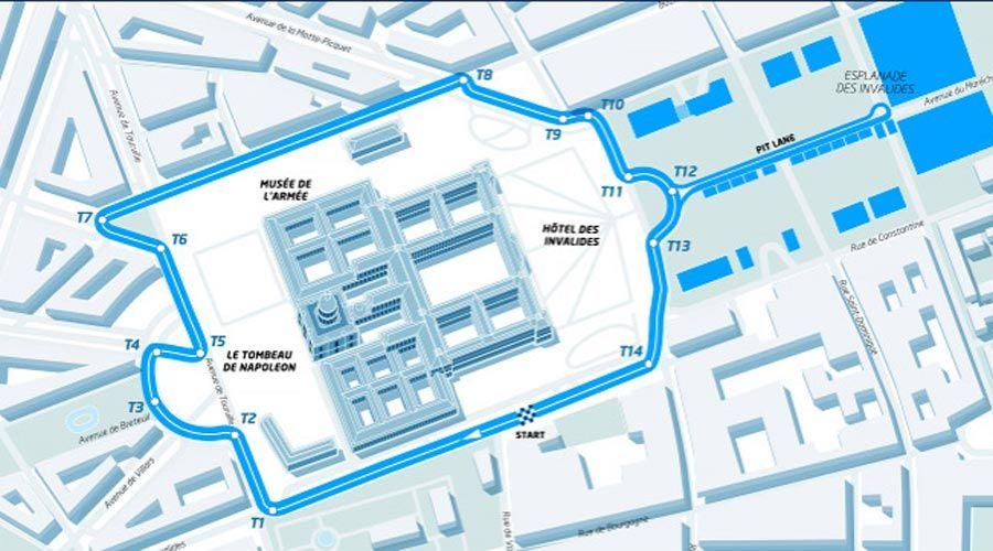 Circuit Paris Formule E 2016