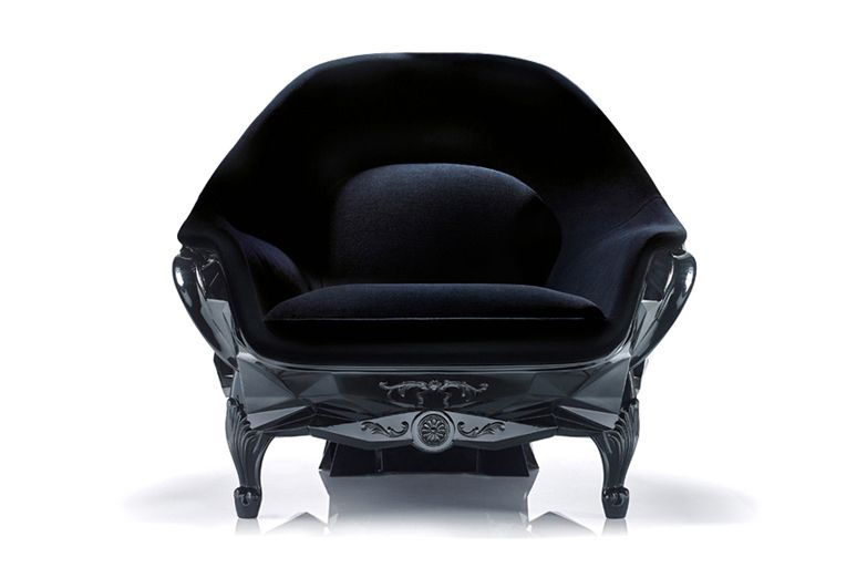 Harow Black Skull Chair 2