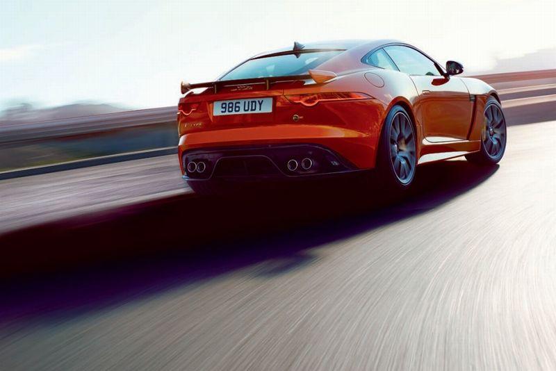 Jaguar FType SVR back