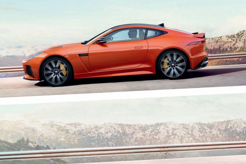 Jaguar FType SVR side
