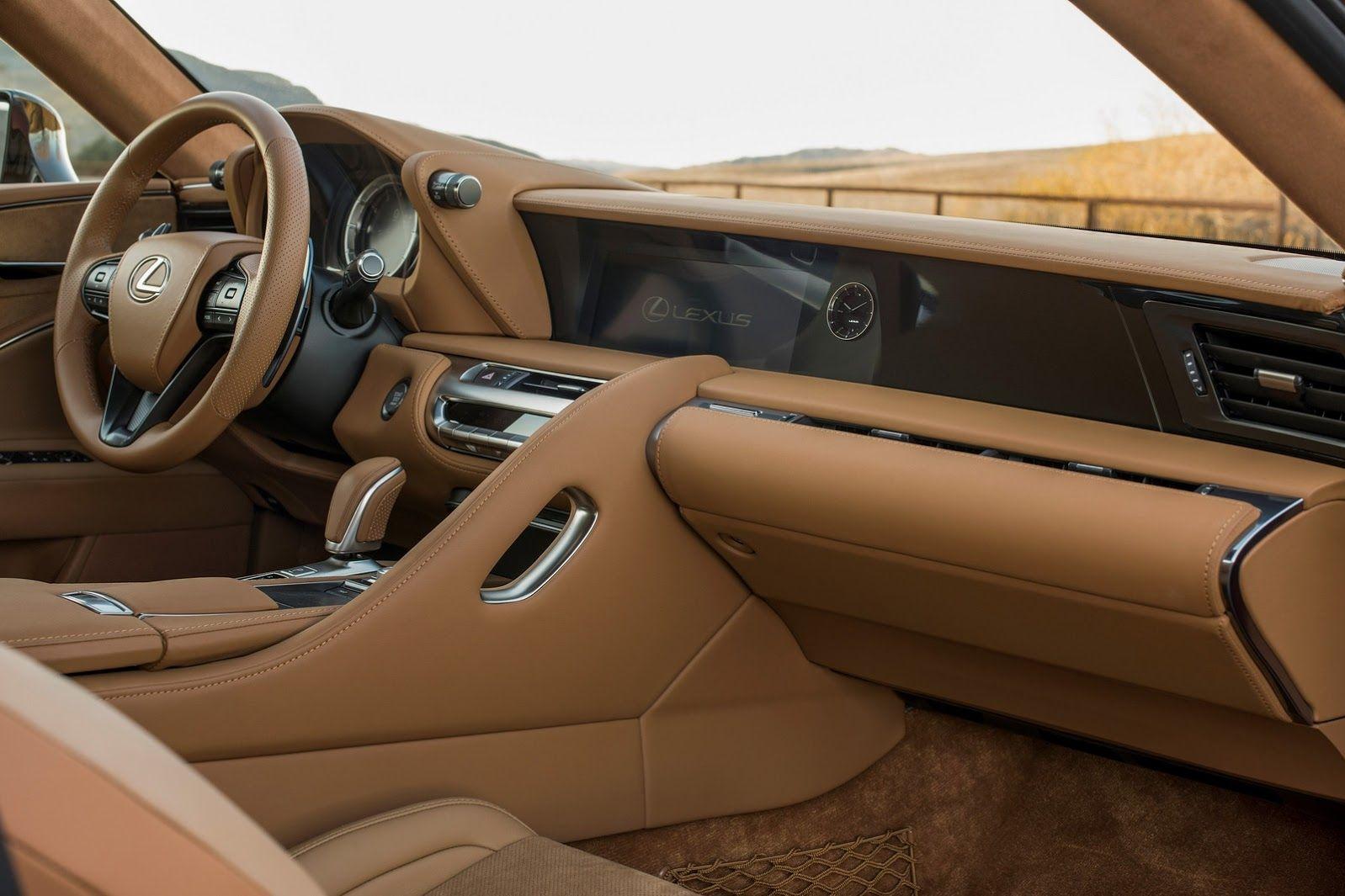 Lexus-LC-500 interieur