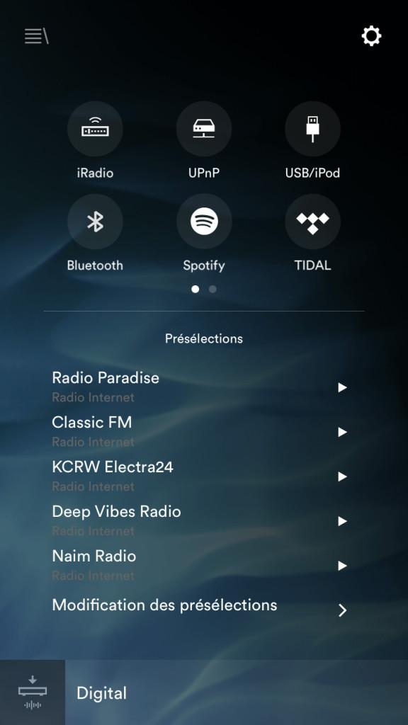 Naim-muso-app-ios-main-screen
