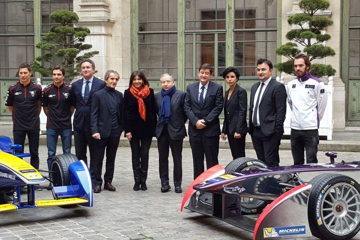 Paris 2016 circuit Formule E