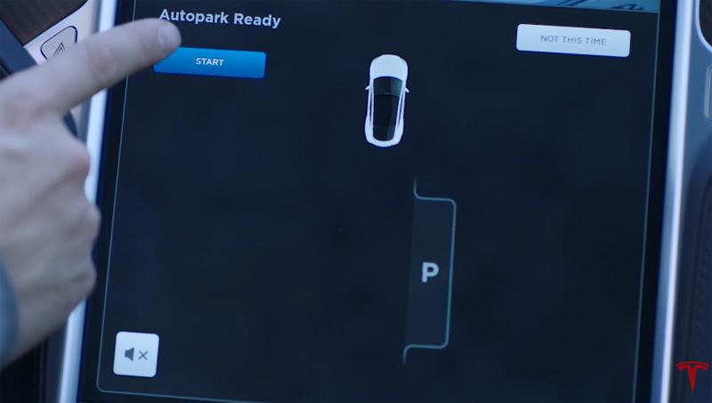 Tesla-Autopark