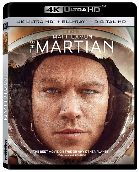 The Martian Ultra HD Blu Ray