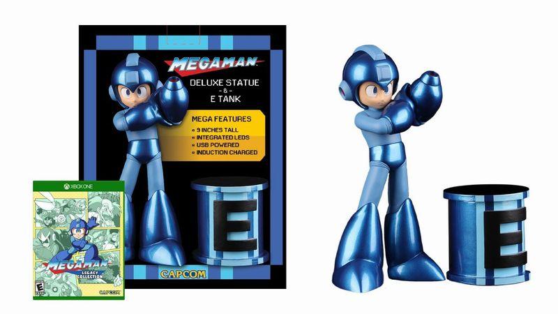 Megaman Legacy Collection Xbox collector