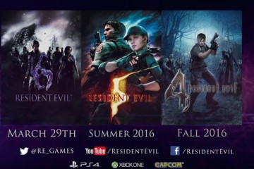 Resident Evil PS4 Xbox One