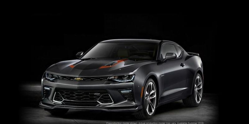 chevrolet camaro fifty 2016 images moteur et prix thm magazine. Black Bedroom Furniture Sets. Home Design Ideas