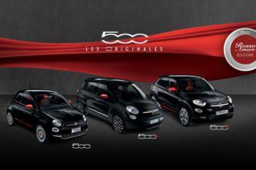 Fiat 500 Rosso Amore Edizione