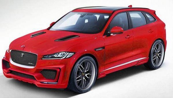 Jaguar FPace Arden